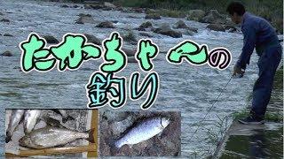 ヤマメ ルアー釣り 「尺ヤマメも!?ヤマメが鮎を食べてデブる!? 」2016年 高津川