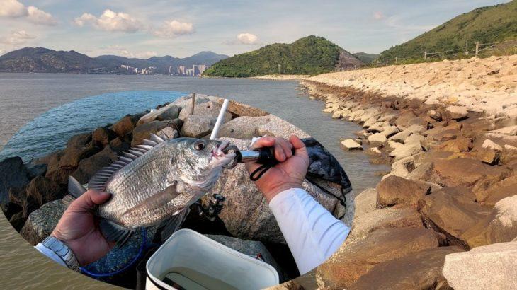 2019.07 磯釣 試新釣點中牛屎@欣澳:觀察水流,選個好釣位很重要