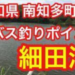 細田池 愛知県 南知多町 バス釣りポイント ブラックバス