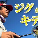 台風後の遠賀川★ジグでデカいの連発!