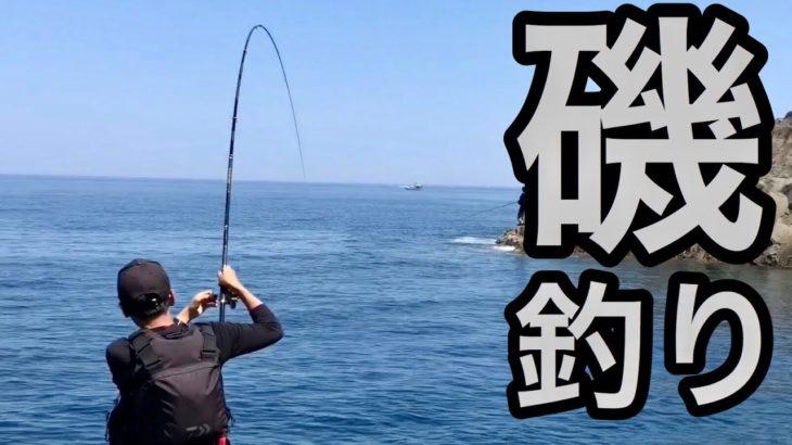 初心者2人がベテランに磯釣りを教わる【カゴ釣り】【フカセ釣り】