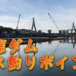 水源ダム バス釣りポイント 豊田市メジャースポット ブラックバス