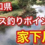 家下川   愛知県 バス釣りポイント ブラックバス