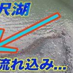 「この流れ込みにルアーを投げると…」丹沢湖でブラックバス釣り