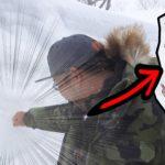 絶品食材を求めて雪国へ。猛吹雪で釣り不能編