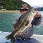 芦ノ湖トップでブラックバス釣り!2017年6月22日プレデター垣内