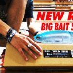 新しくバス釣り用ビッグベイトロッドを購入!開封レビュー!!