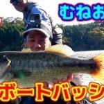 【むねお船長】ダム湖でバス釣り!!!