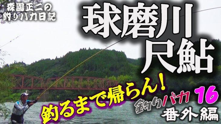 球磨川【尺鮎】釣るまで帰らん!第1日 森園正二の釣りバカ日記16-1 番外編