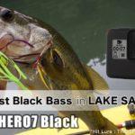 【13 Fishing Concept Z + Huerco XT510-4C】GoProで撮ってたらブラックバスが奇跡的に釣れてくれた動画【バス釣り in 相模湖】