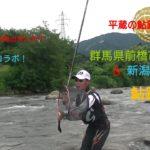 平蔵の鮎釣り2019!群馬県前橋市利根川&新潟県魚野川の鮎釣り!