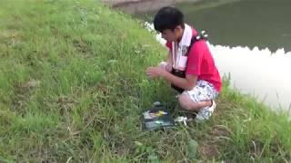 ブラックバス釣り大会in中池・鹿ノ丸池