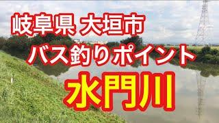 水門川 岐阜県 大垣市 バス釣りポイント ブラックバス