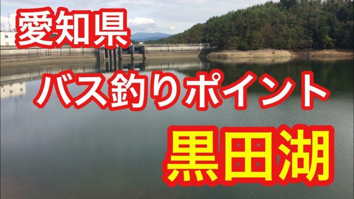 黒田湖  愛知県 バス釣りポイント ブラックバス
