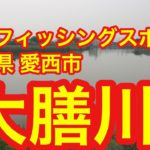 大膳川 穴場 バスフィッシングスポット愛知県愛西市 ブラックバス