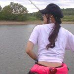 【釣りガール】かなぱんのリアル【バス釣り】