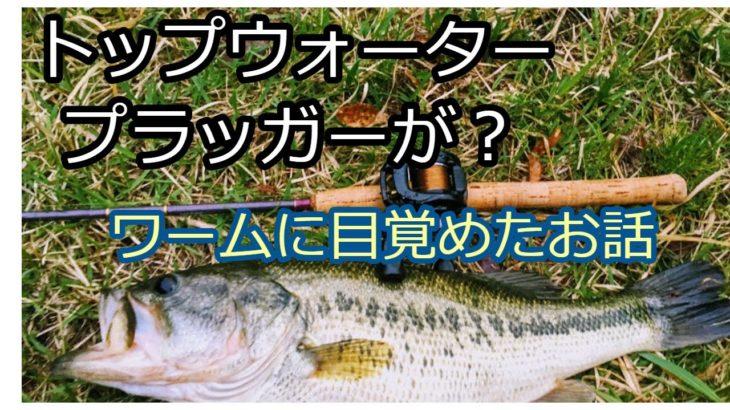 【ブラックバス釣り】トップウォータープラッガーがワームに目覚める 【バス釣れない】