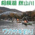 相模湖 秋山川 天狗岩 ワカサギ釣り 【不釣】