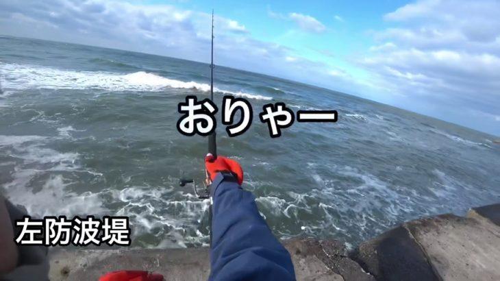 釣れないから行くなよ!いくなよ!と思い場所特定?「M漁港」堤防釣り ショアジギング