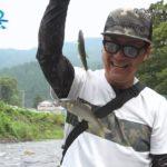 【釣り百景】#319 釣種の垣根を超えた友と楽しむ!ライトスタイル鮎の友釣り