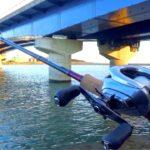 最高の釣り場で最高のバス釣り道具使って魚釣り!