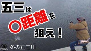 【バス釣り】賢い五三川バス。攻略するには!?