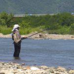 千曲川・依田川のアユ釣り