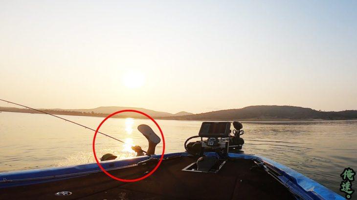 巨大魚を釣り上げようとして湖に引きずりこまれた釣り人が、その後…