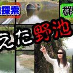 【バス釣り】バスのいそうな秘境(野池)探索第2弾‼群馬の野池が危機的状況‼