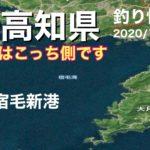 【高知県釣り情報】雨の日に宿毛方面の堤防を調べに行ったけど(泣)