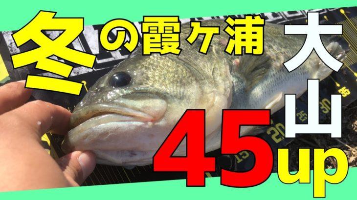11月初冬の霞ヶ浦は水門が熱い【バス釣り/DEPS/ブルフラット】