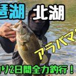 【琵琶湖】北湖バス釣り2日間アラバマリグ最強