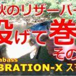 【ブラックバス】Megabass VIBRATION-X SMATRA × Megabass DESTROYER F3-61X × SHIMANO scorpion Metanium Mg