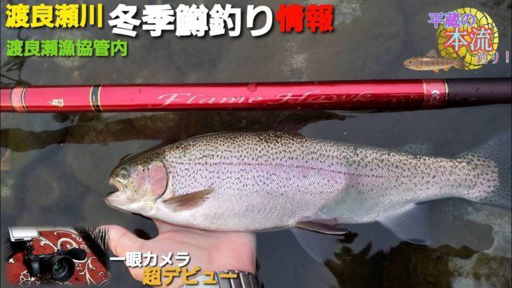 【平蔵の本流釣り!】#6 渡良瀬川の冬季鱒釣り情報&一眼カメラテスト撮影