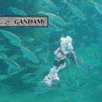 【GUNDAM 釣り場水中調査】ガンダムの運なのか⁉とんでもない数が‼荒れた外海から避難した魚がこんなところにいた‼