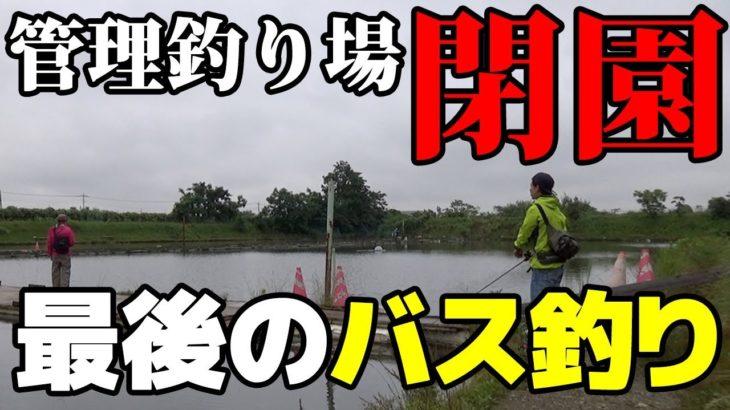 閉店する管理釣り場で最後のブラックバスを求めて【埼玉/吉羽園】