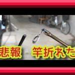 悲報ブラックバス、ハス、ニゴイ釣りに行って竿を折られる 琵琶湖バス釣り実釣動画