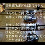 番外編(鮎釣りはありません…)  メルカリで買ったルアーとワームで 大物マス釣り大会に行く予定です♪  おまけ 2019年10月21日 静岡県の『さわやか 』で げんこつハンバーグを さわやかマスター