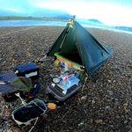 アルバイトして買った小舟で川釣りして小舟テントに泊まったよ!