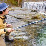 【新境地】川の釣りに夢中になっています。