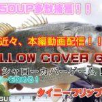 【タイニークラッシュ】【バス釣り】【〜SHALLOW COVER GAME〜】シャローカバーゲームのタイニーフリップ!!近々、本編動画配信!トータルキャッチウエイト45kgオーバー!!
