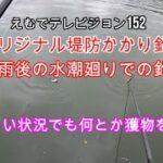 えむでテレビジョン152 オリジナル堤防かかり釣り 大雨後の水潮廻りでの釣り 厳しい状況でも何とか獲物を~!