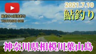 【鮎釣り】2021.7.10神奈川県相模川葉山島#10