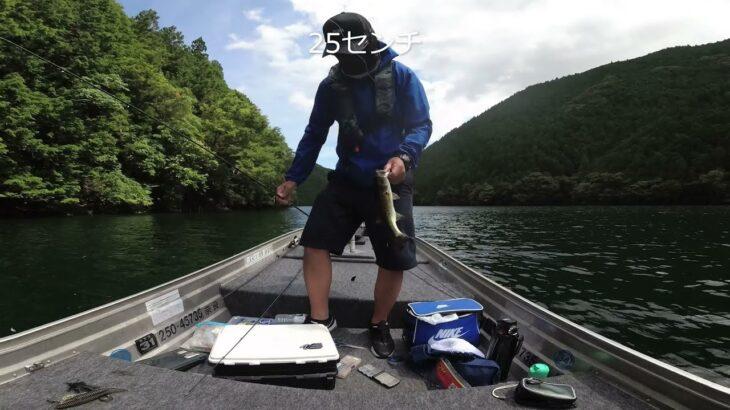 ブラックバス釣行 七色ダム 2021年7月25日