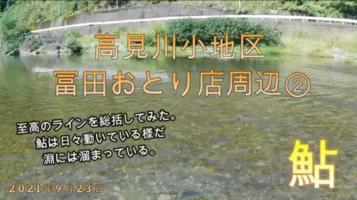 【鮎釣り】高見川小地区 冨田おとり店② 210923