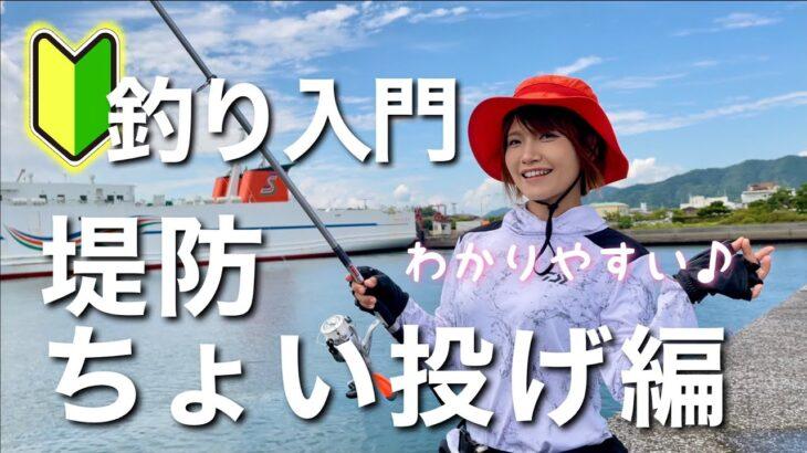 【釣り入門】堤防ちょい投げ編(わかりやすく解説)