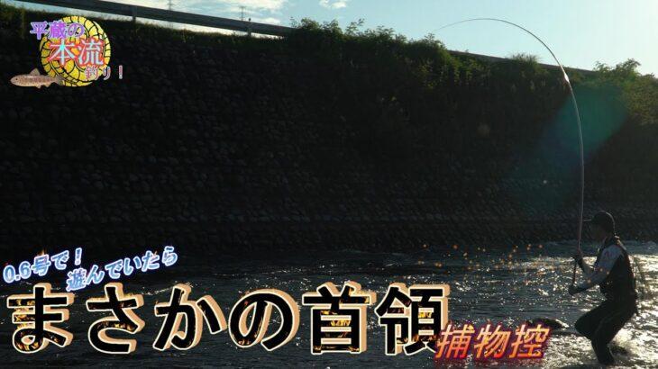 【激闘】0.6号で遊んでいたらまさかの衝撃!!!【平蔵の本流釣り】autumn